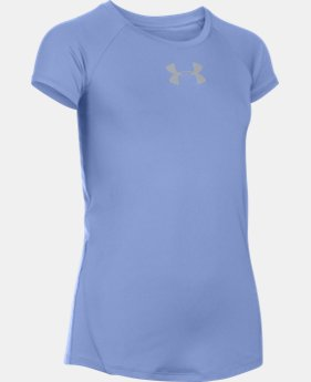 Girls' UA CoolSwitch Short Sleeve LIMITED TIME: FREE U.S. SHIPPING 1 Color $13.49 to $17.24