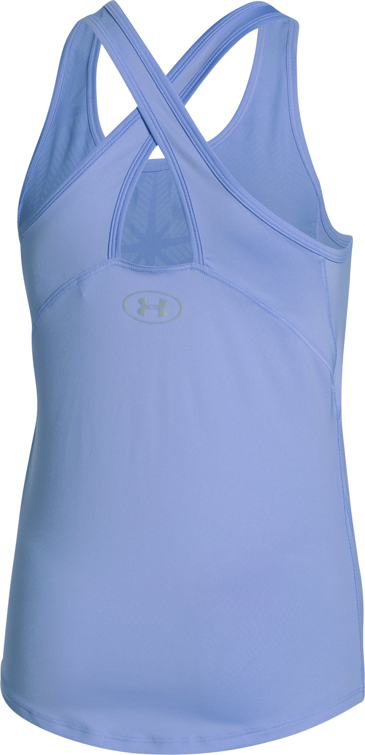 Girls' UA CoolSwitch Tank, PURPLE ICE