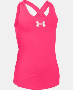 Girls' UA CoolSwitch Tank LIMITED TIME: FREE U.S. SHIPPING 1 Color $17.24