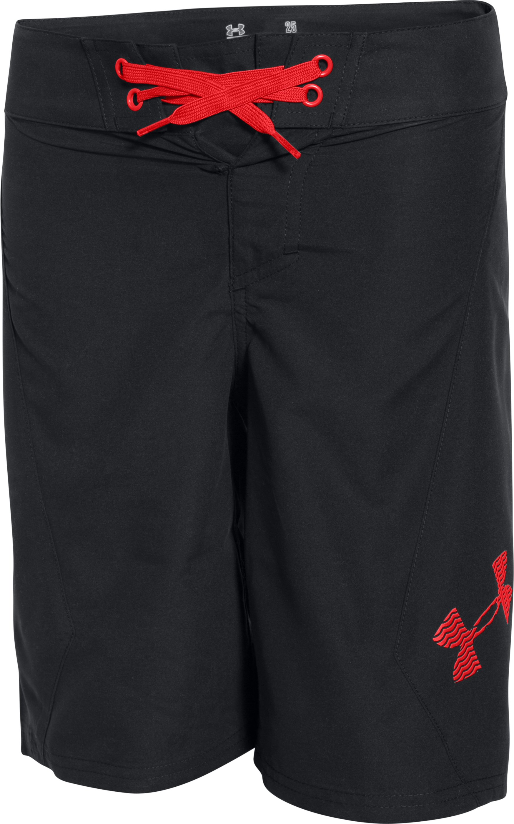 Boys' UA Shorebreak Boardshorts, Black , undefined