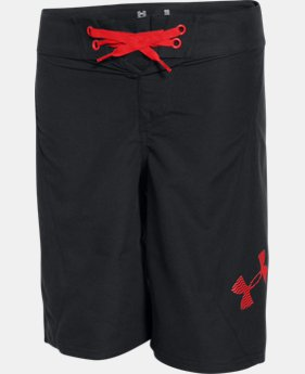 Best Seller Boys' UA Shorebreak Boardshorts LIMITED TIME: FREE SHIPPING 1 Color $34.99