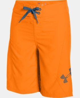 Boys' UA Shorebreak Boardshorts LIMITED TIME: FREE SHIPPING 1 Color $29.99 to $39.99