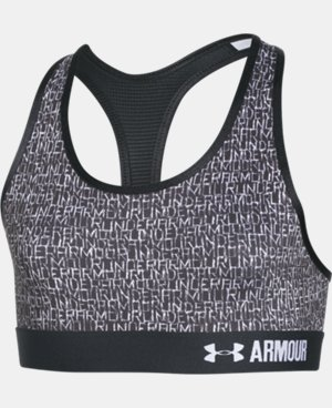 Girls' UA HeatGear® Armour Printed Sports Bra  2 Colors $14.24 to $18.99