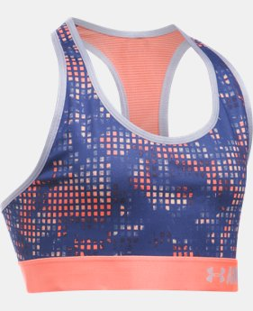 Girls' UA HeatGear® Armour Printed Sports Bra  1 Color $22.99 to $29.99