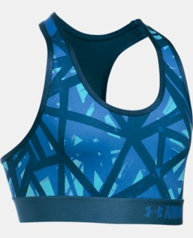 Girls' UA HeatGear® Armour Printed Sports Bra  1 Color $14.99 to $18.99