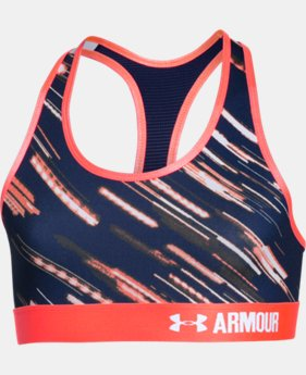 Girls' UA HeatGear® Armour Printed Sports Bra   $14.24 to $18.99