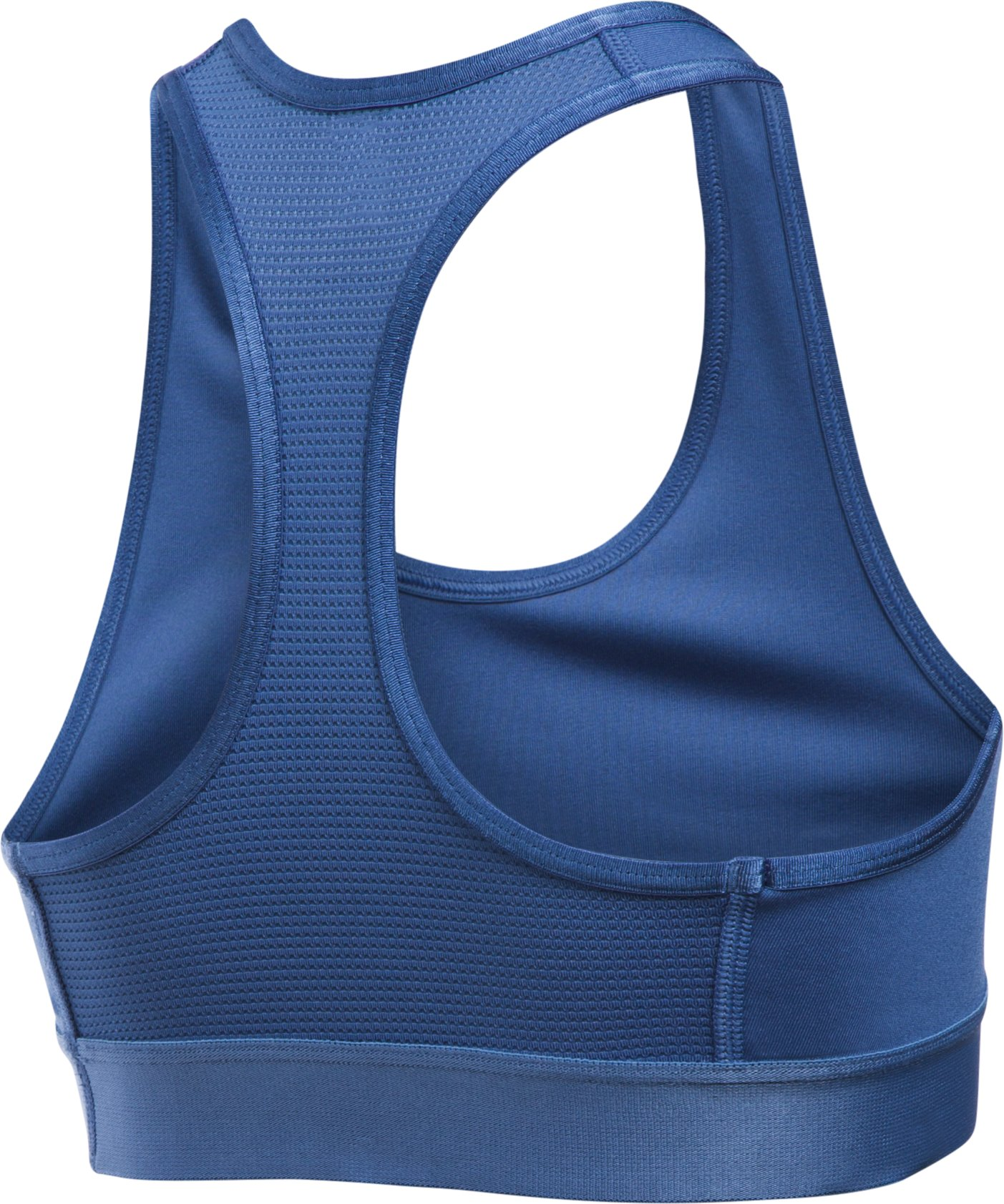 Girls' UA HeatGear® Armour Solid Sports Bra, DEEP PERIWINKLE,