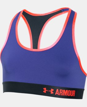 Girls' UA HeatGear® Armour Solid Sports Bra LIMITED TIME: FREE U.S. SHIPPING 1 Color $13.49 to $17.99