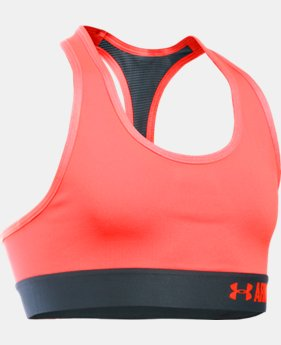 Girls' UA HeatGear® Armour Solid Sports Bra