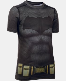 New Arrival Boys' Under Armour® Alter Ego Batman HeatGear® T-Shirt  1 Color $49.99