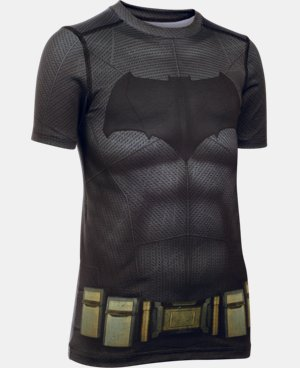 New Arrival  Boys' Under Armour® Alter Ego Batman HeatGear® T-Shirt  1 Color $59.99
