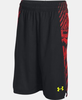 New Arrival  Boys' Under Armour® Alter Ego Superman Vs. Batman Shorts   $39.99