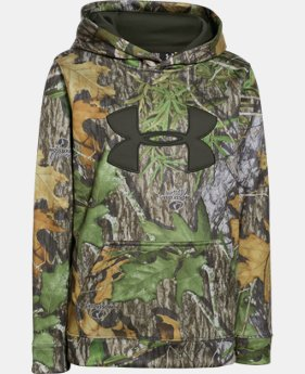 Boys' UA Armour® Fleece Camo Big Logo Hoodie  4 Colors $52.99 to $69.99