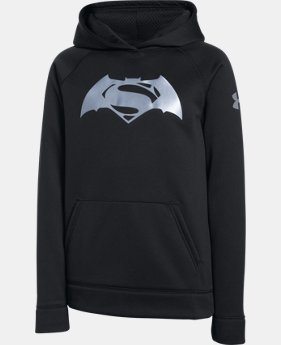 Boys' Under Armour® Alter Ego Superman Vs. Batman Hoodie