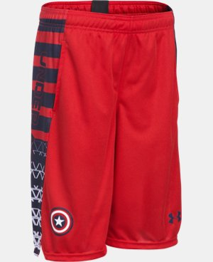 Boys' Under Armour® Alter Ego Captain America Shorts  1 Color $29.99