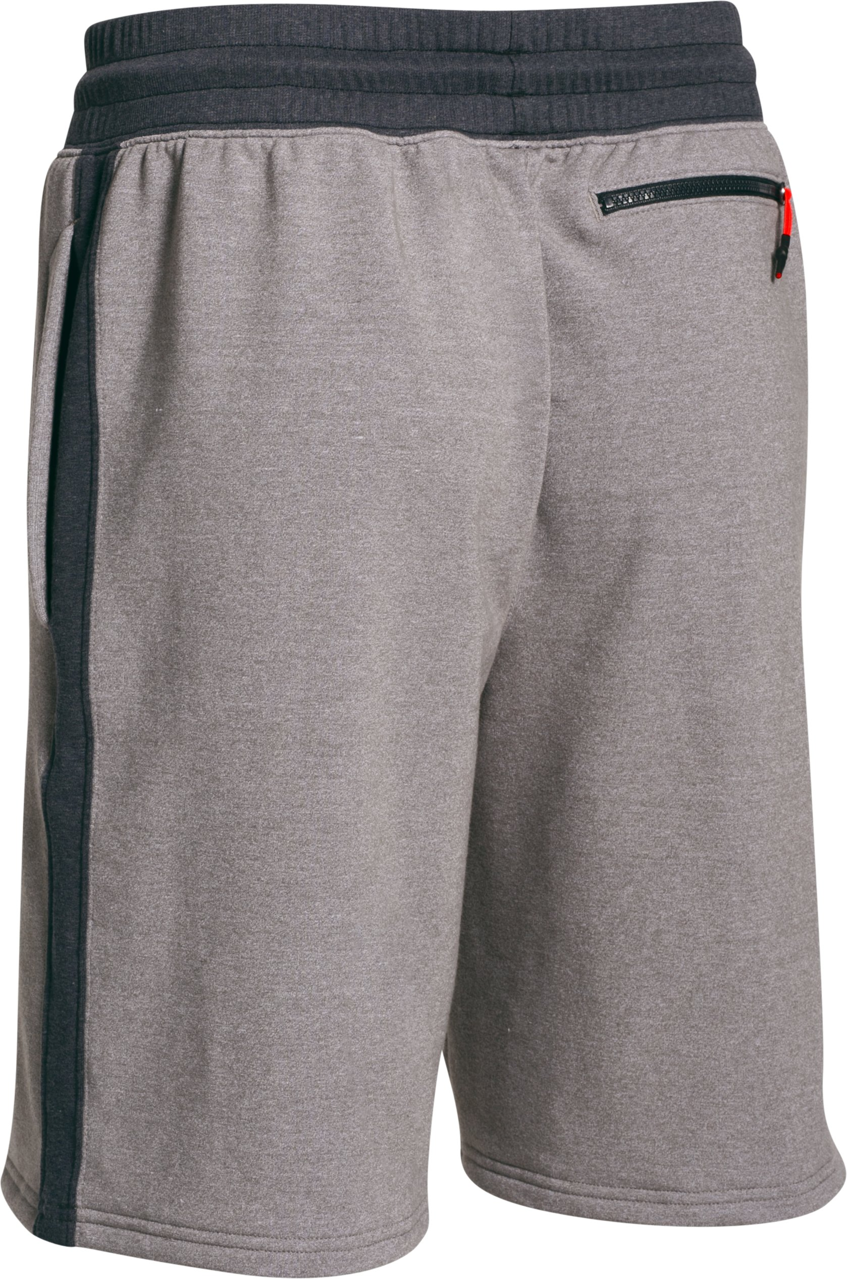 Men's UA x Muhammad Ali Terry Shorts, GREYHOUND HEATHER