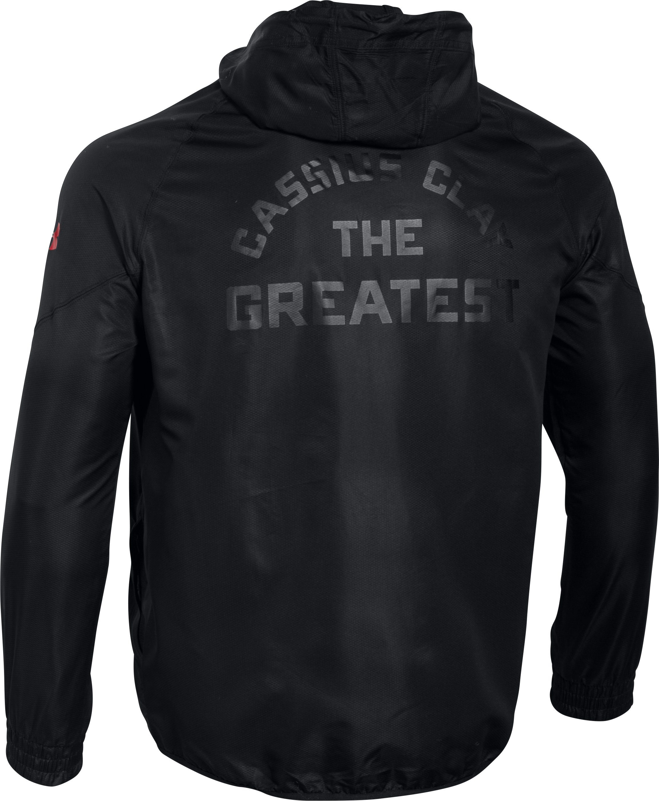 Men's UA x Muhammad Ali Windbreaker, Black ,