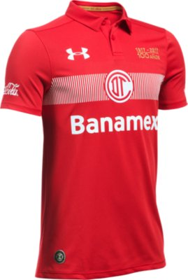 Under Armour Soccer Jersey - Under Armour Deportivo Toluca FC Away ...