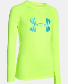 Boys' UA Slasher Long Sleeve Surf T-Shirt LIMITED TIME: FREE SHIPPING 1 Color $26.99 to $34.99