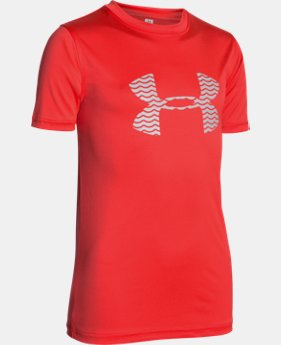 Boys' UA Slasher Surf T-Shirt   $18.99