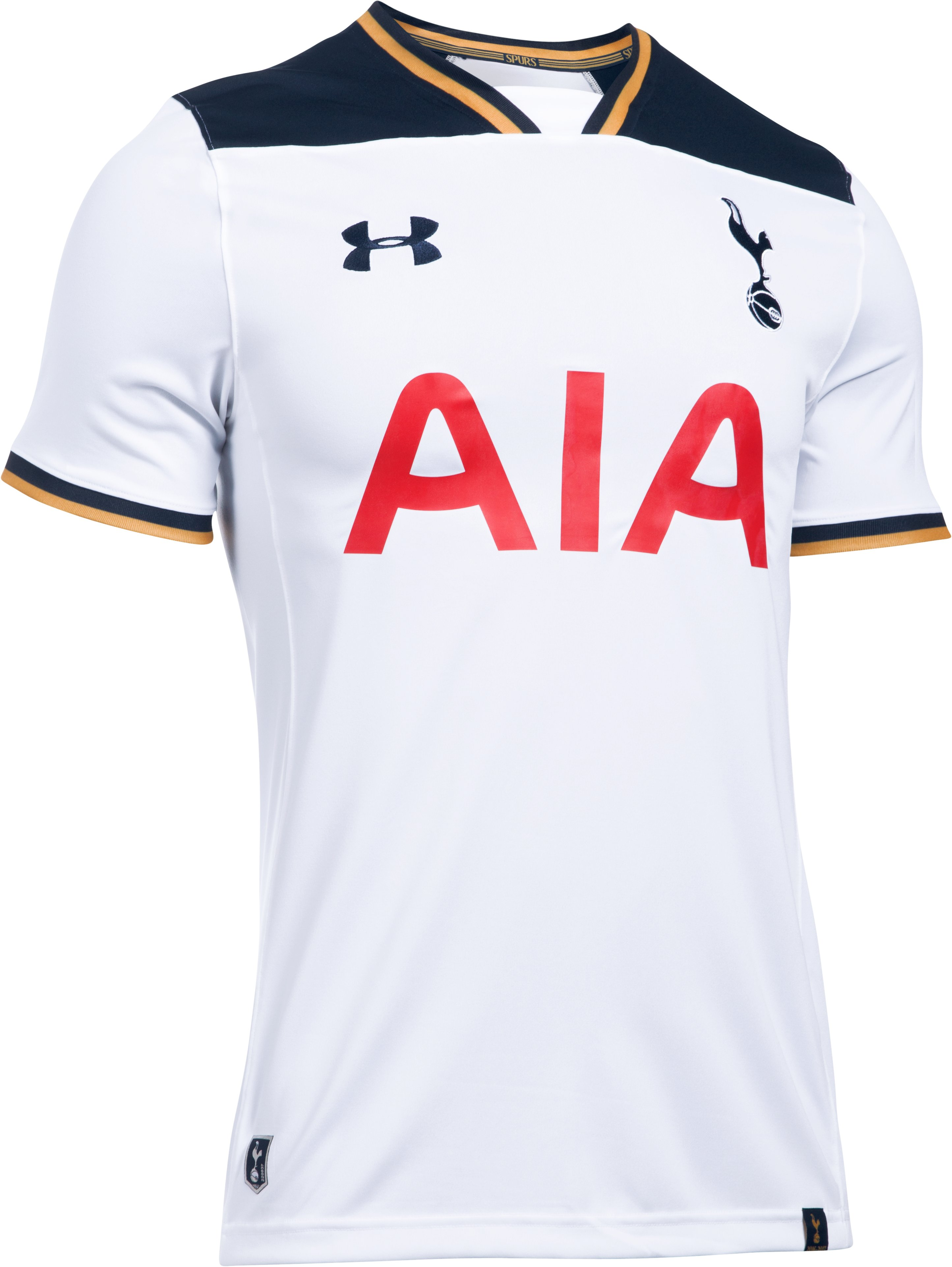 Men's Tottenham Hotspur 16/17 Home Replica Jersey, White, undefined