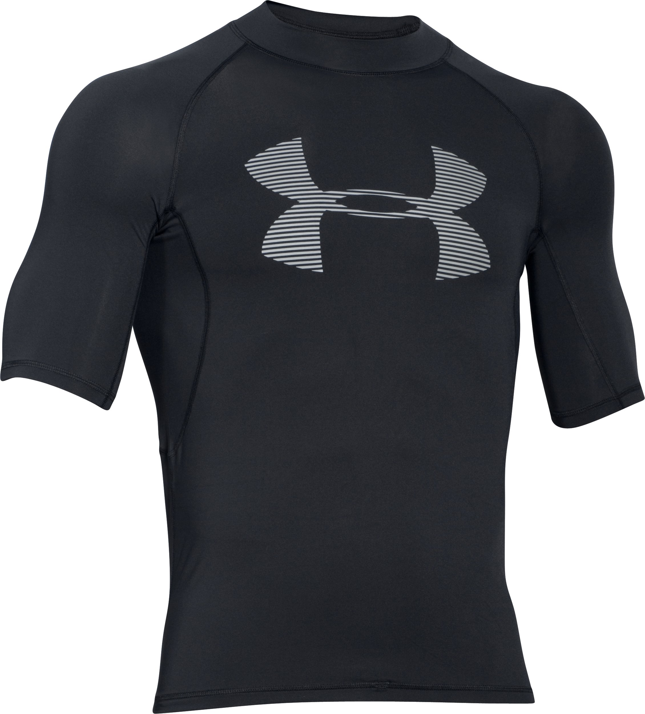 Men's UA Ames Rashguard, Black , undefined