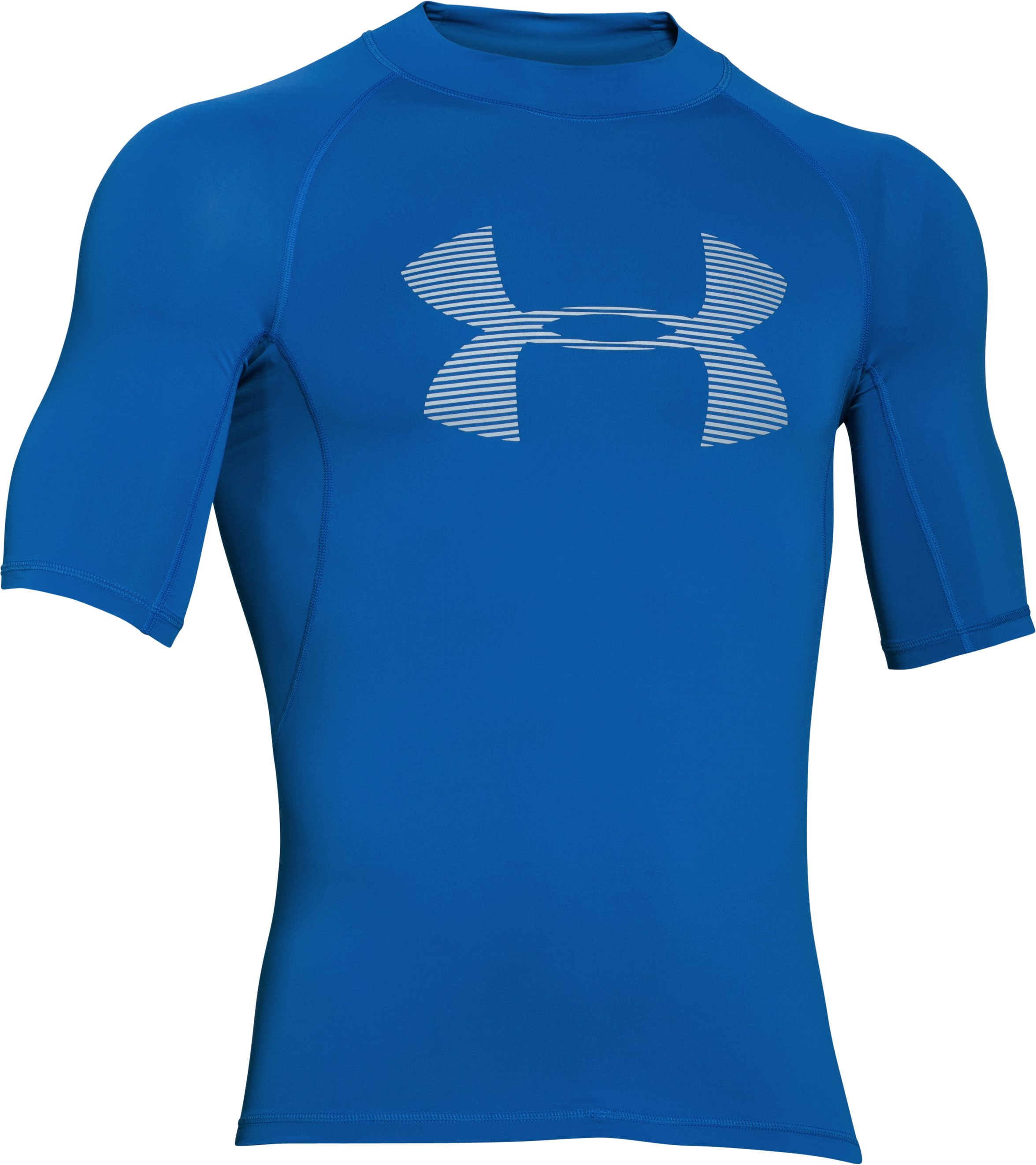 Men's UA Ames Rashguard, ULTRA BLUE, undefined