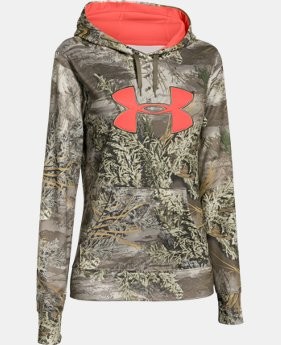 Women's UA Armour® Fleece Camo Big Logo Hoodie  1 Color $74.99
