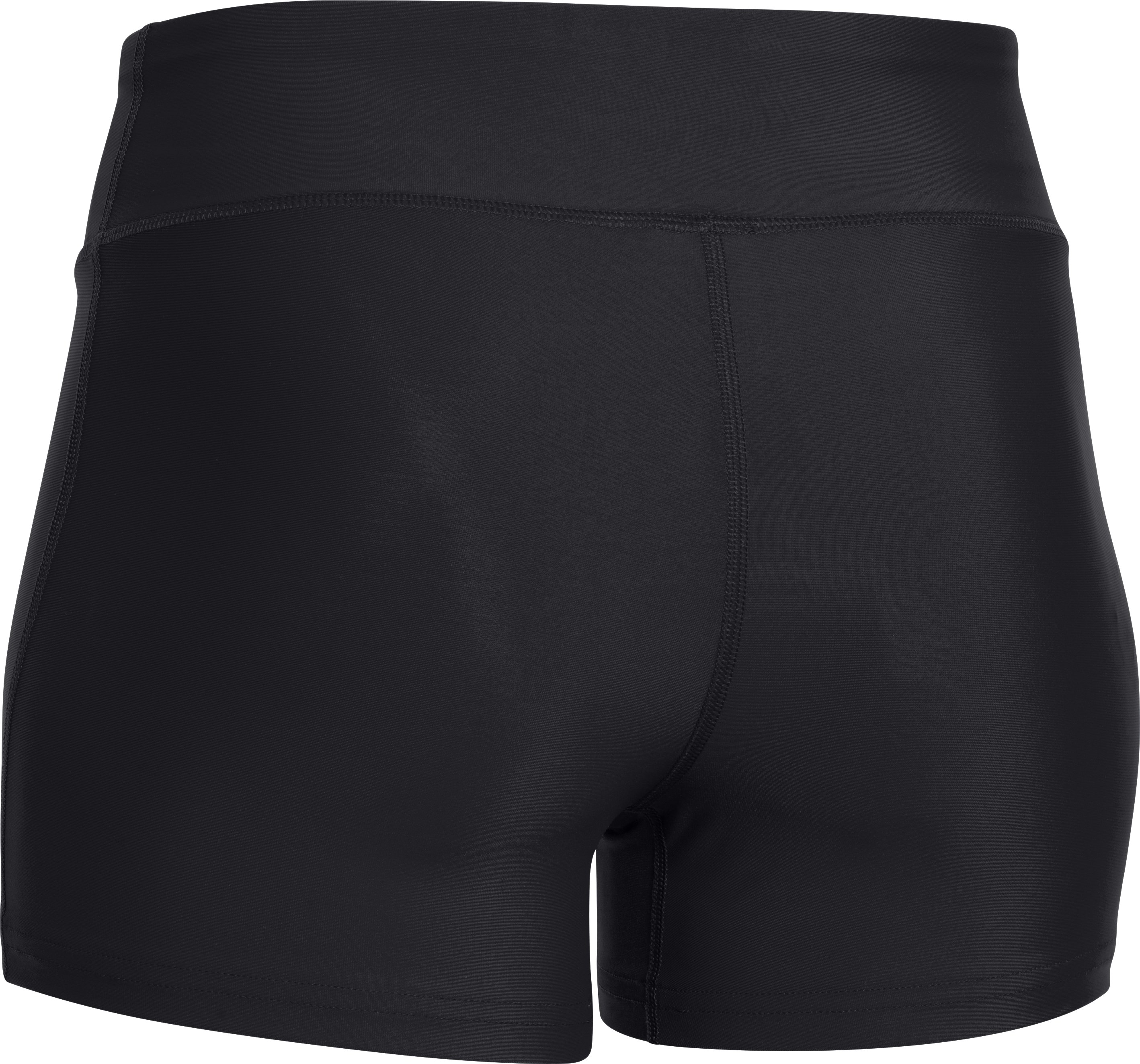 "Women's UA On The Court 3"" Shorts, Black ,"