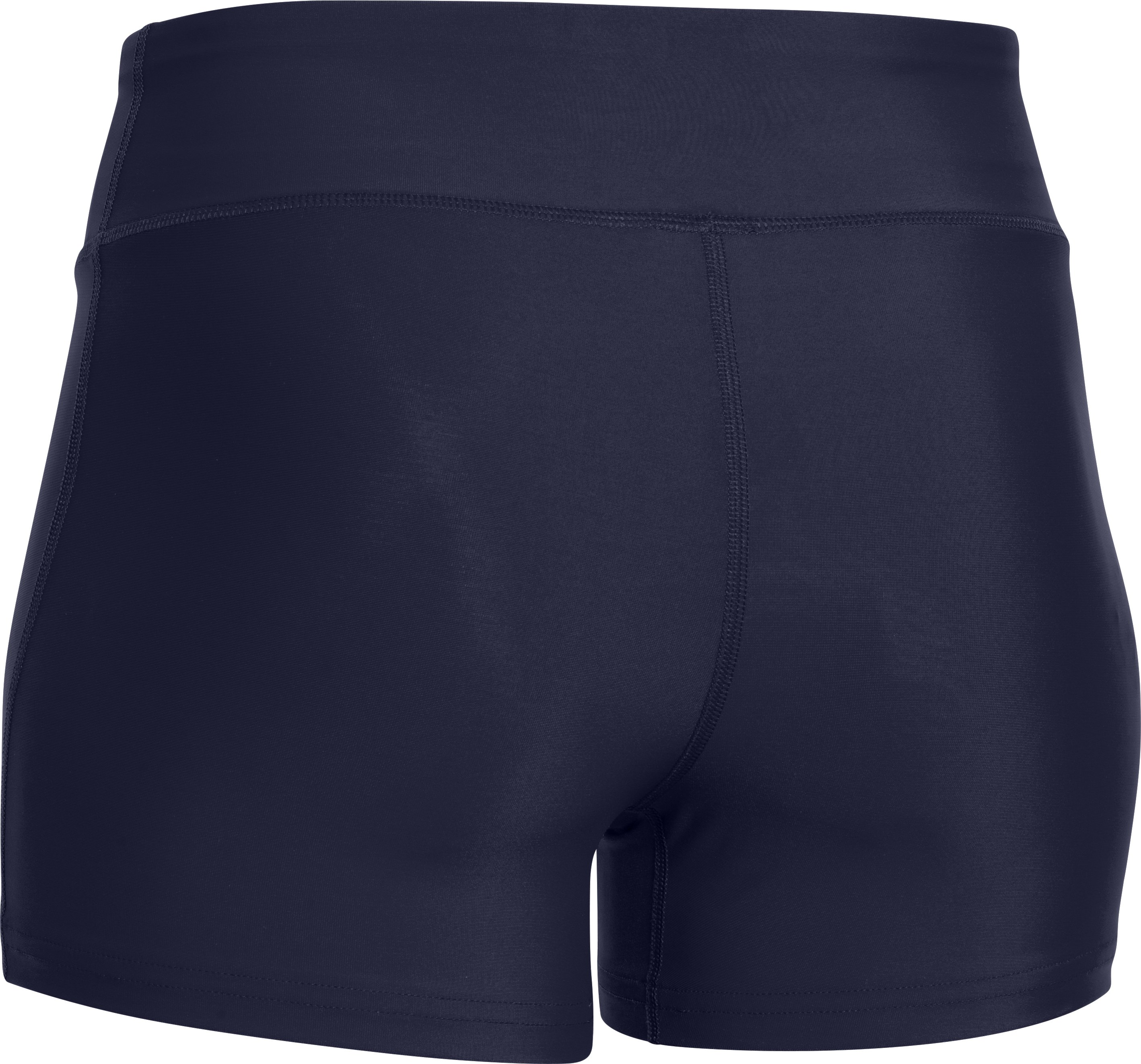"Women's UA On The Court 3"" Shorts, Midnight Navy"