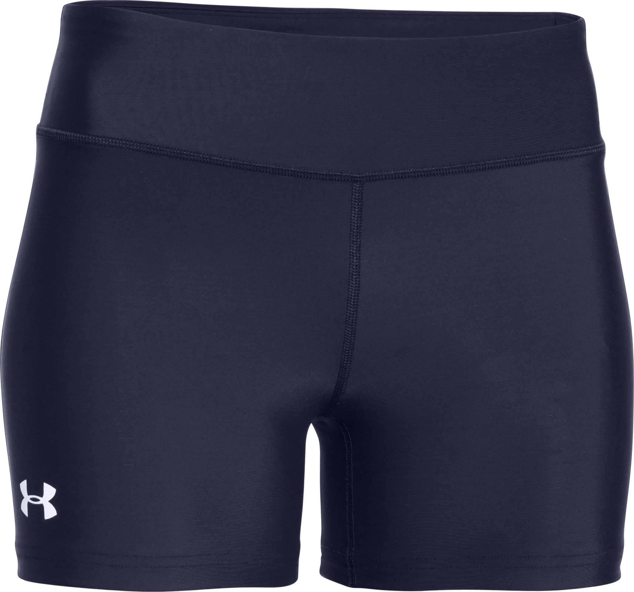 "Women's UA On The Court 4"" Short, Midnight Navy"