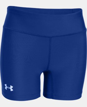 "Girls' UA On The Court 4"" Short   $24.99"
