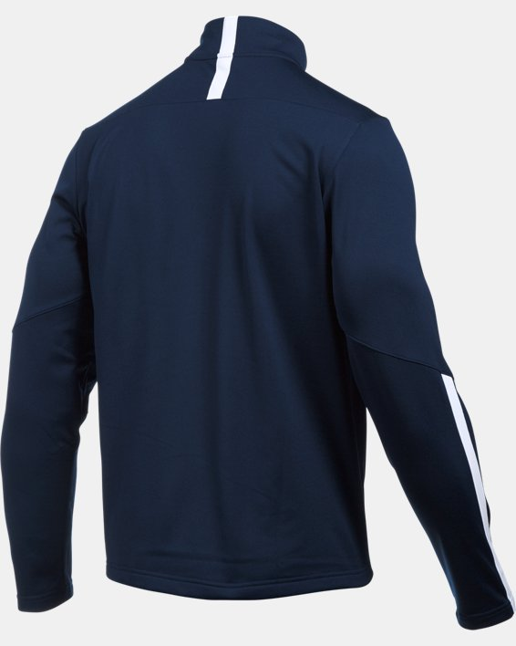 Men's UA Qualifier ¼ Zip, Navy, pdpMainDesktop image number 4