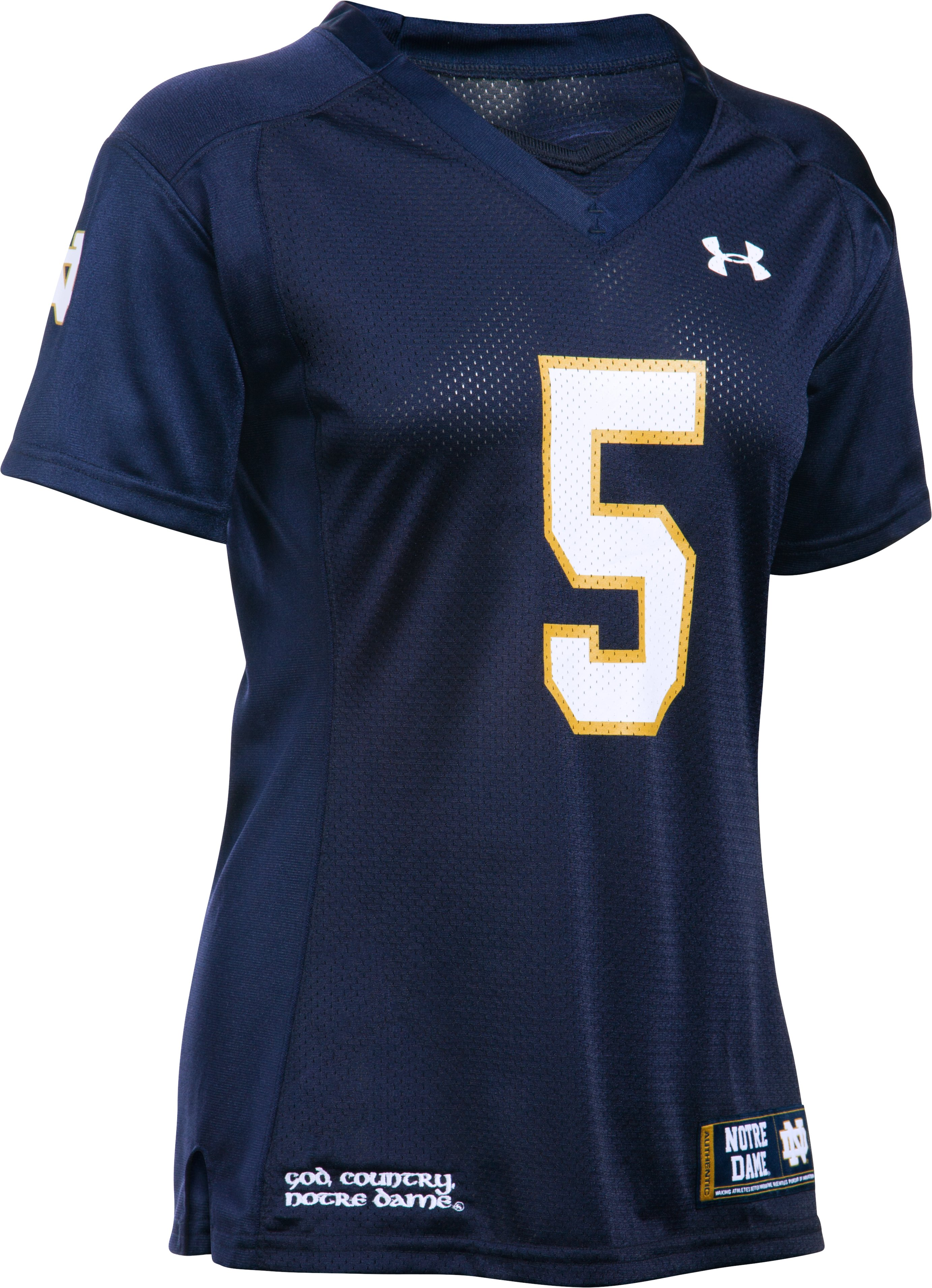 Women's 2015 Notre Dame Replica Jersey - Home , Midnight Navy