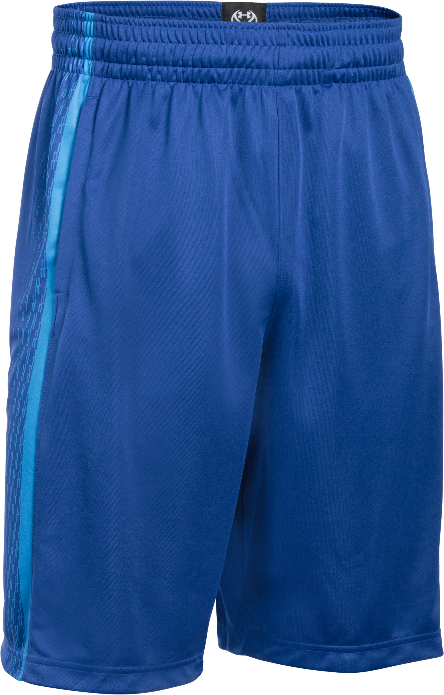 Men's UA Mach Speed Basketball Shorts, Royal,
