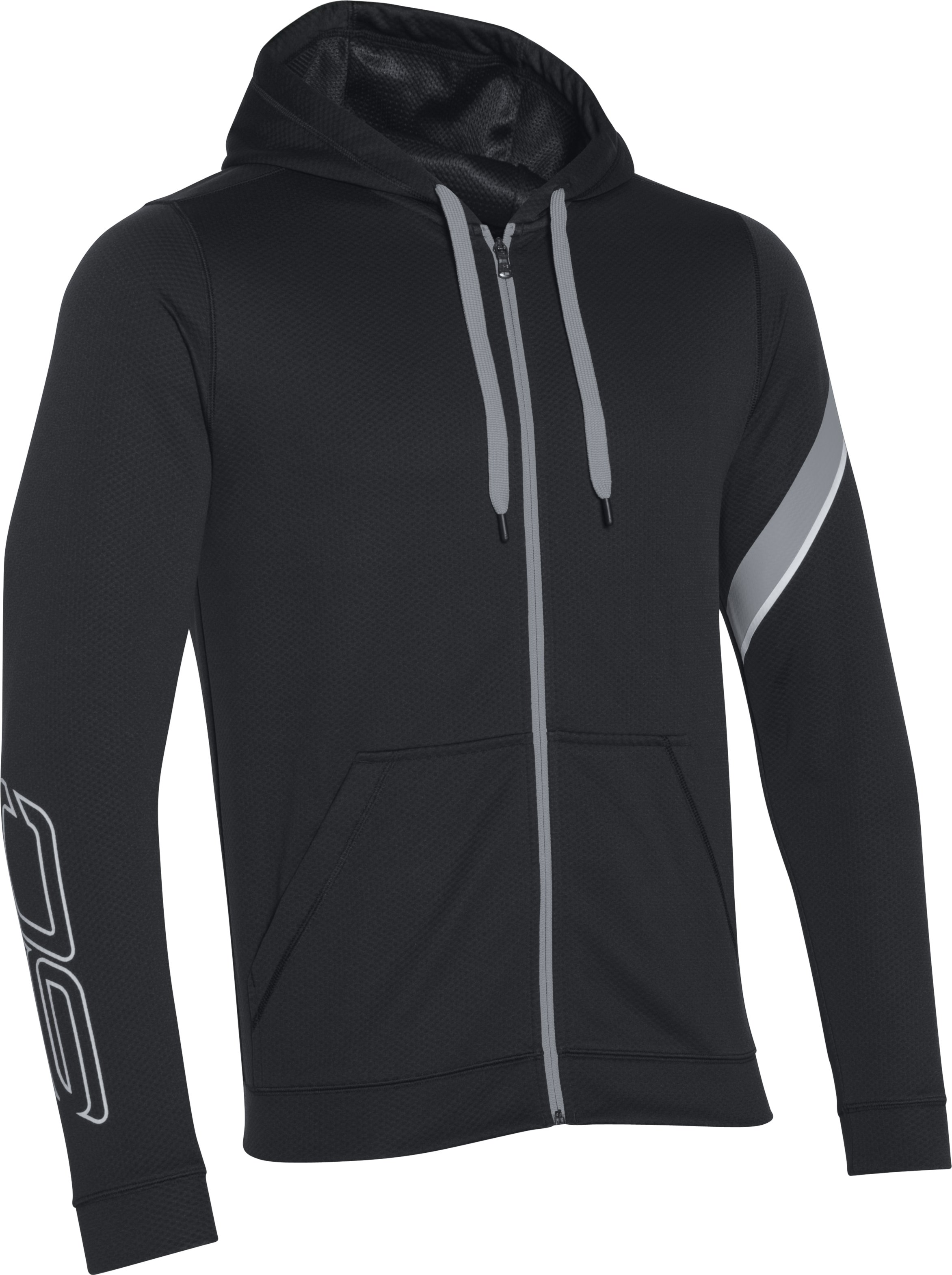 Men's SC30 Essentials Zip Hoodie, Black ,