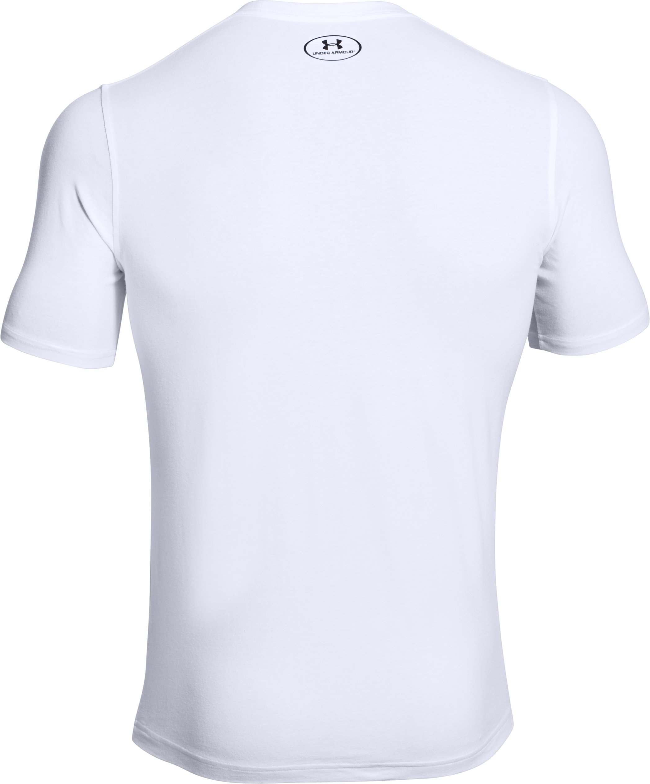 Men's UA Floor Plan T-Shirt, White, undefined