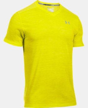 New Arrival Men's UA Streaker Run V-Neck T-Shirt LIMITED TIME: FREE SHIPPING 1 Color $34.99
