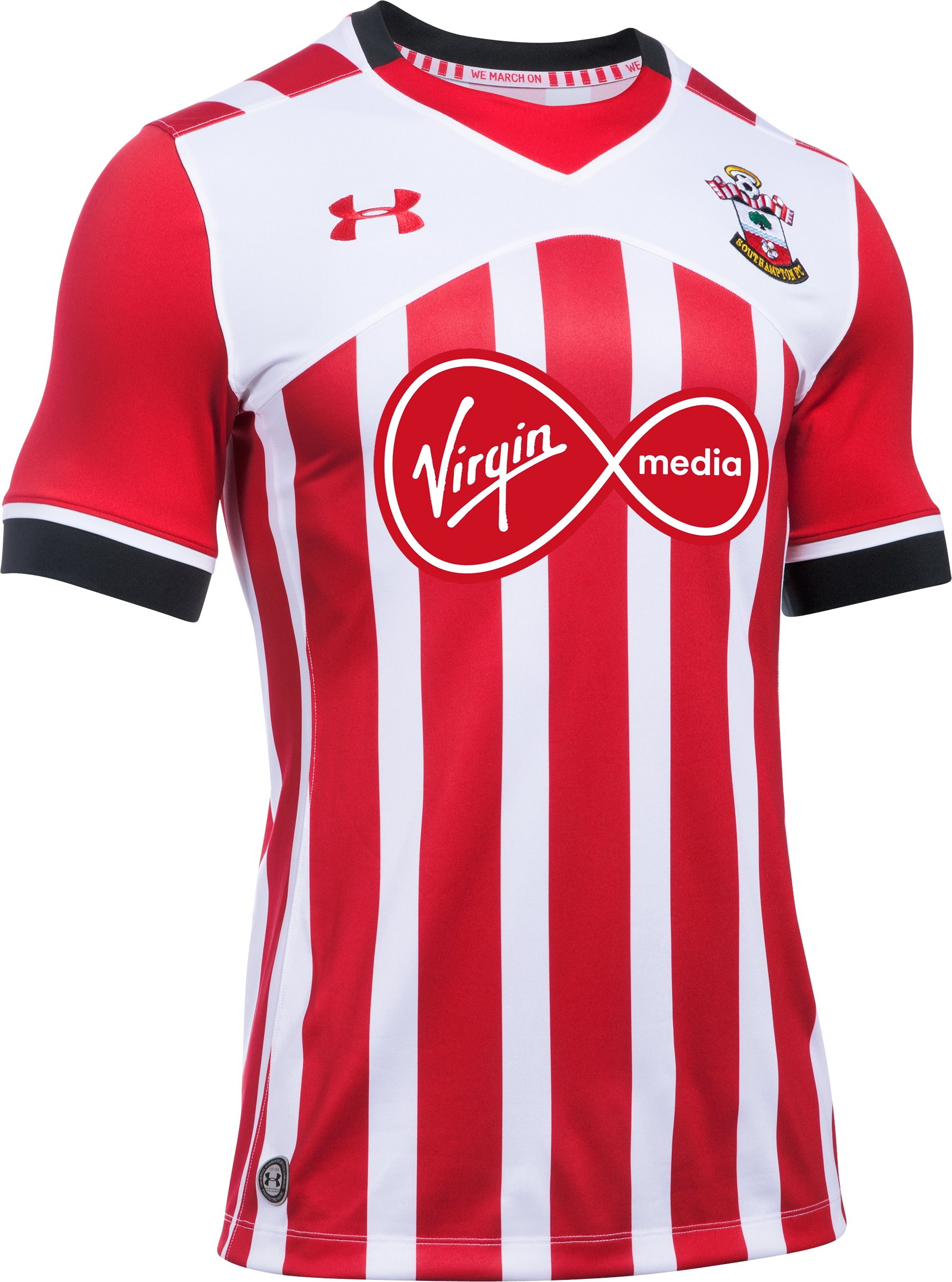 Men's Southampton 16/17 Home Replica Jersey, Red,