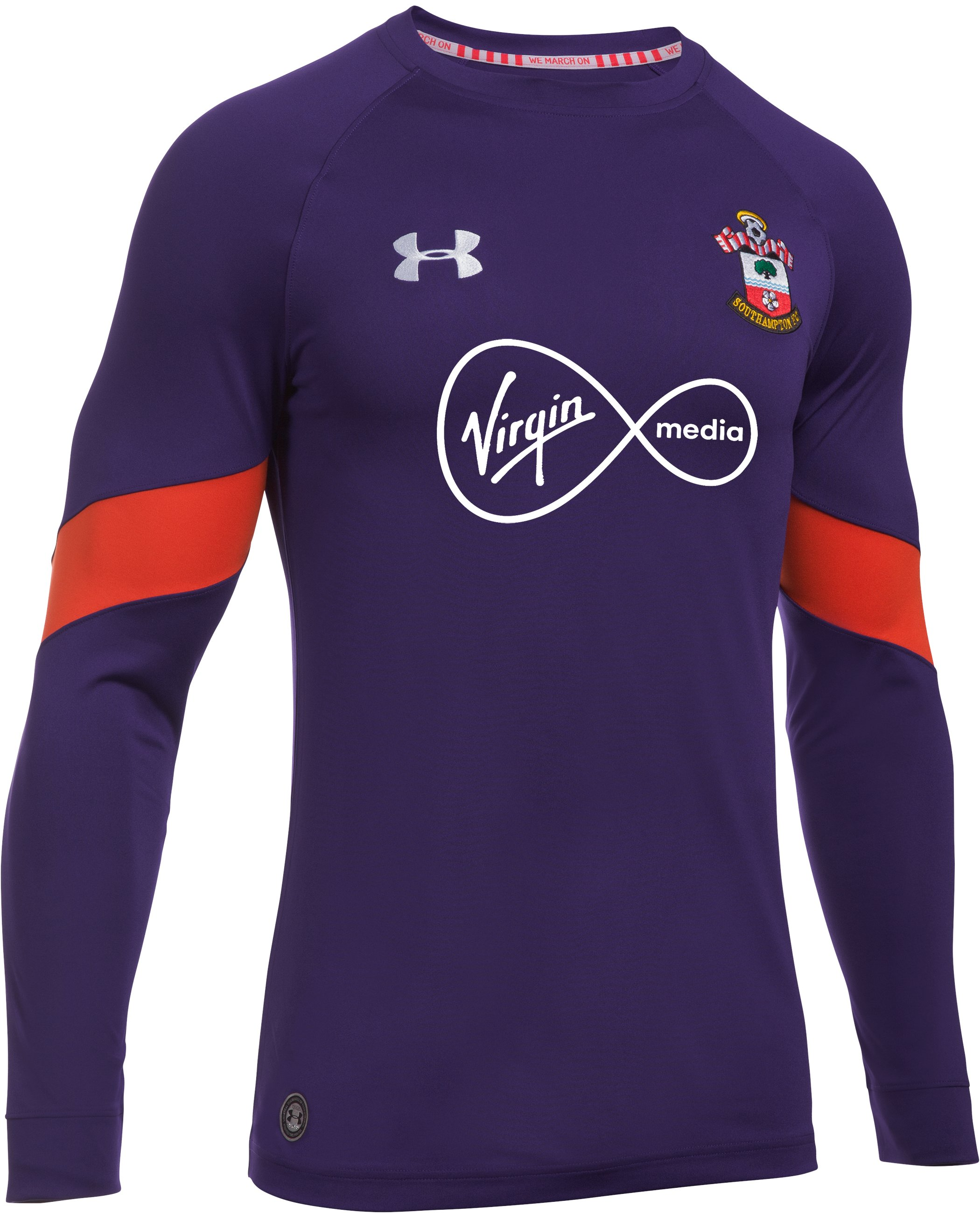 Men's Southampton 16/17 Goalkeeper Replica Jersey, Purple Rain