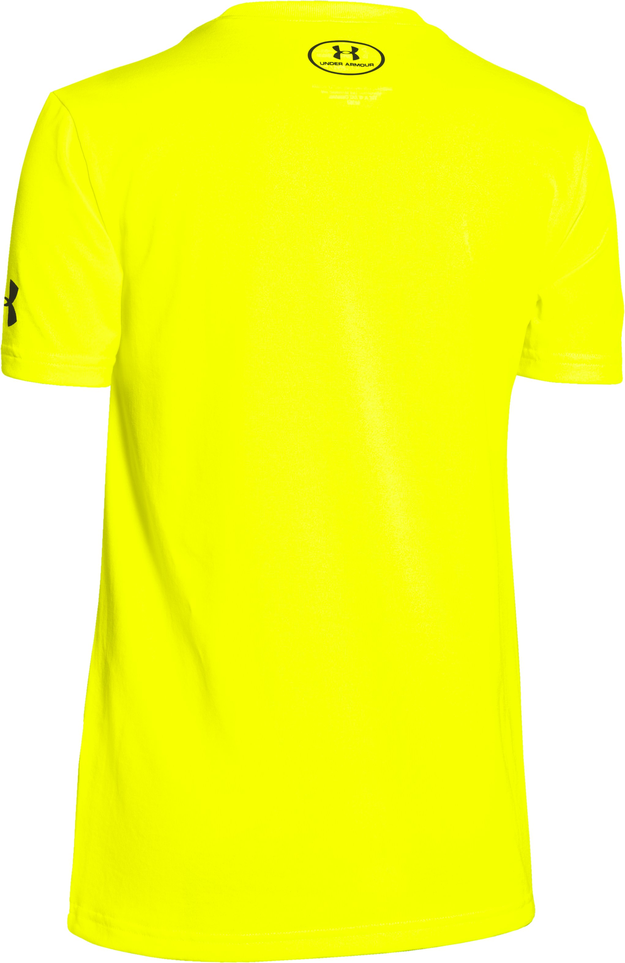Boys' Under Armour® Alter Ego Batman Logo T-Shirt, High-Vis Yellow,