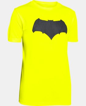 New Arrival  Boys' Under Armour® Batman Logo T-Shirt LIMITED TIME: FREE SHIPPING 1 Color $34.99