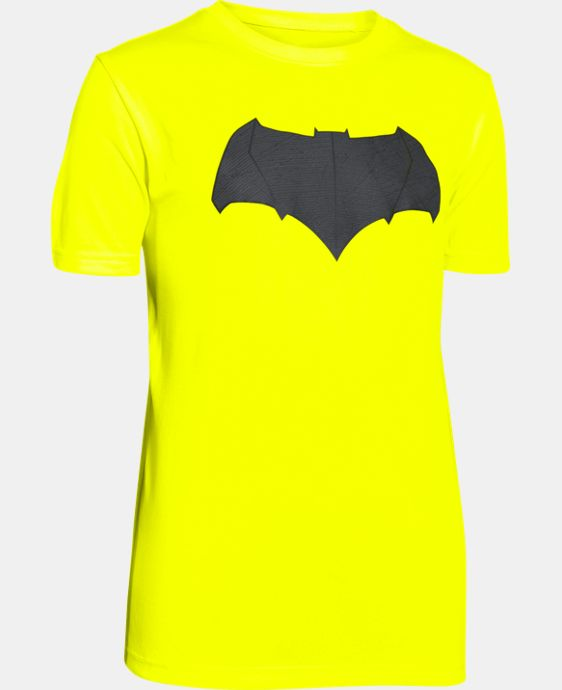 New Arrival  Boys' Under Armour® Alter Ego Batman Logo T-Shirt LIMITED TIME: FREE SHIPPING 1 Color $34.99