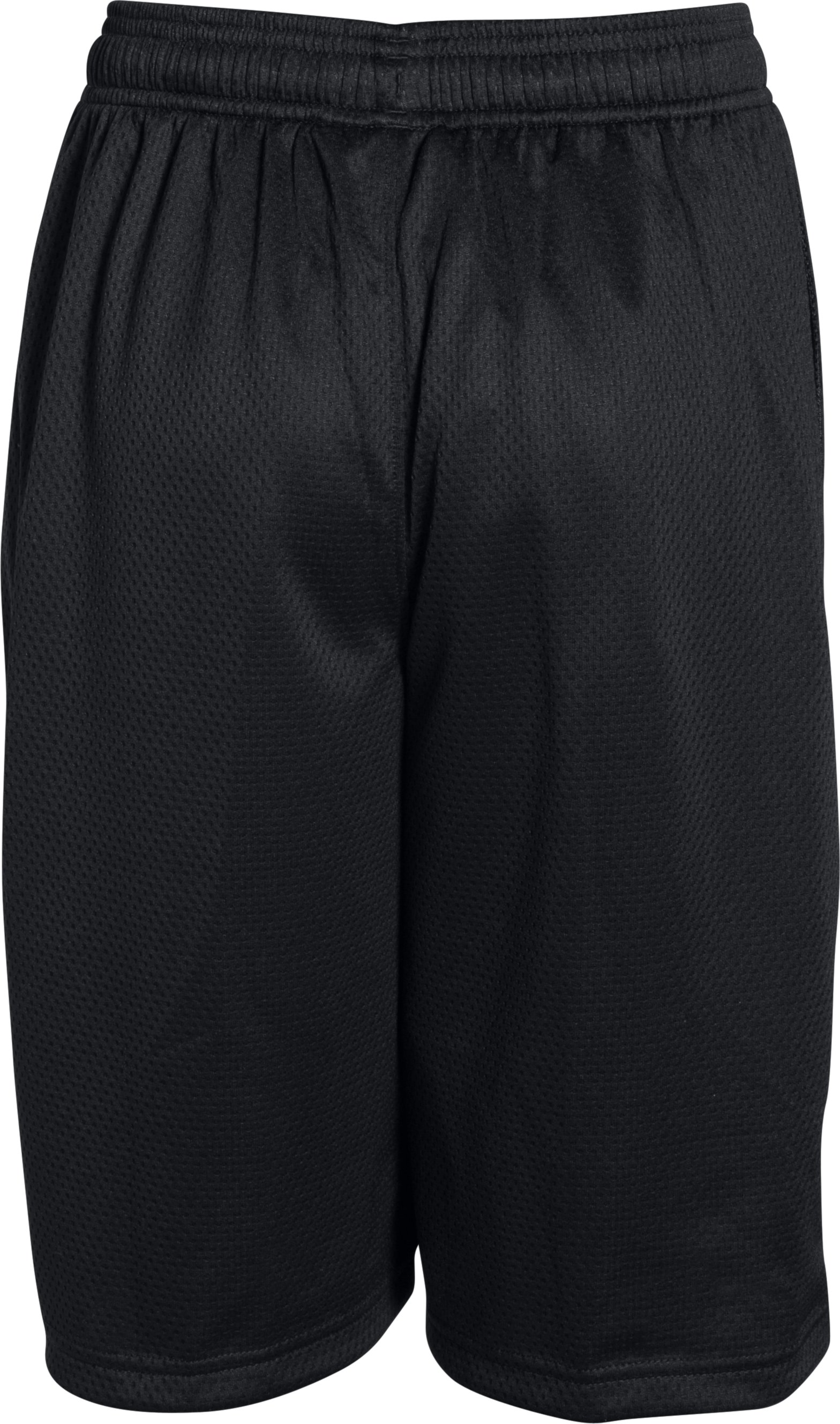 Boys' SC30 Essentials Basketball Shorts, Black , undefined