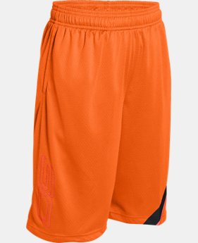 Best Seller Boys' SC30 Essentials Basketball Shorts LIMITED TIME: FREE SHIPPING 1 Color $29.99