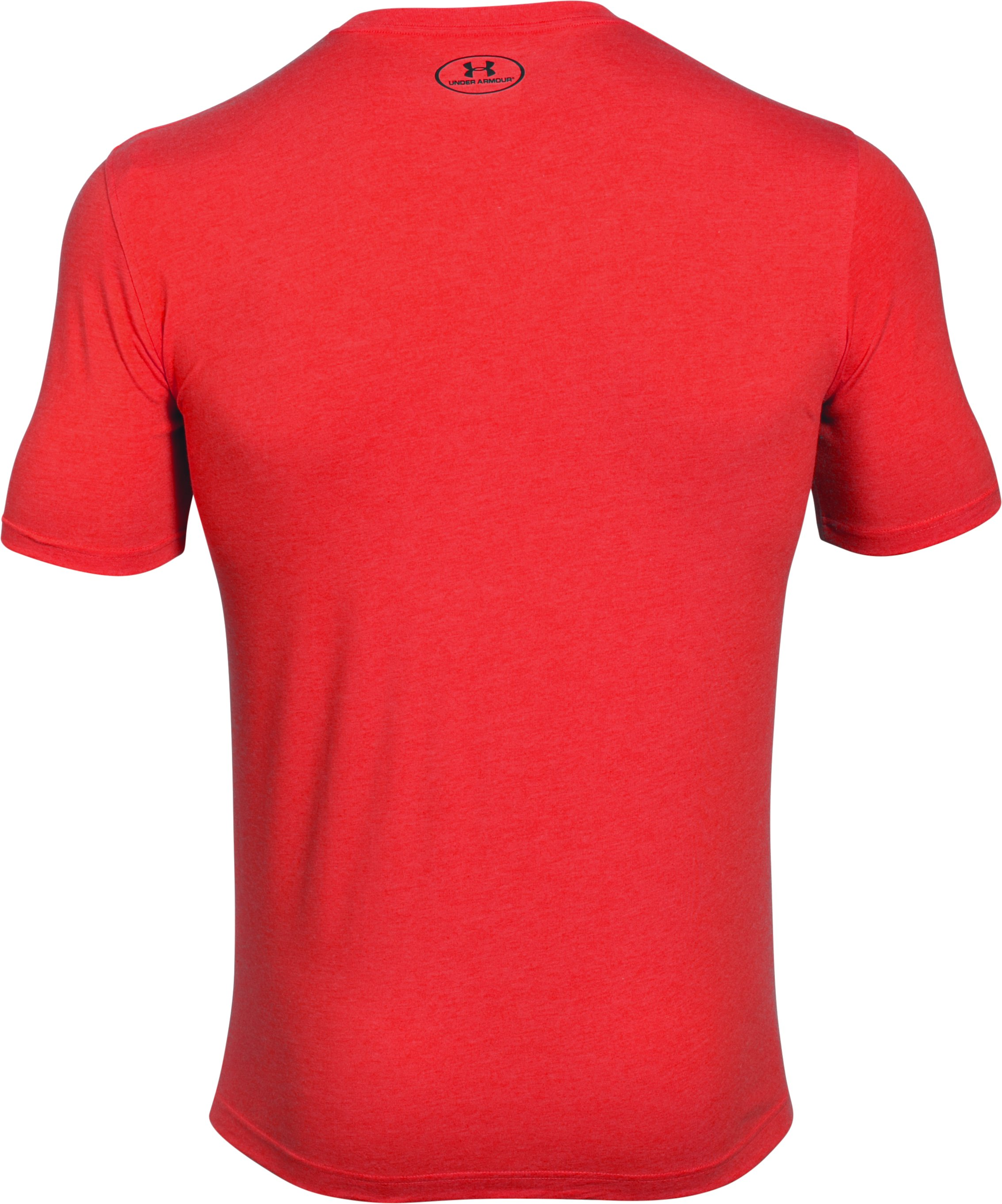 Men's UA Presure Breeds Success T-Shirt, ROCKET RED
