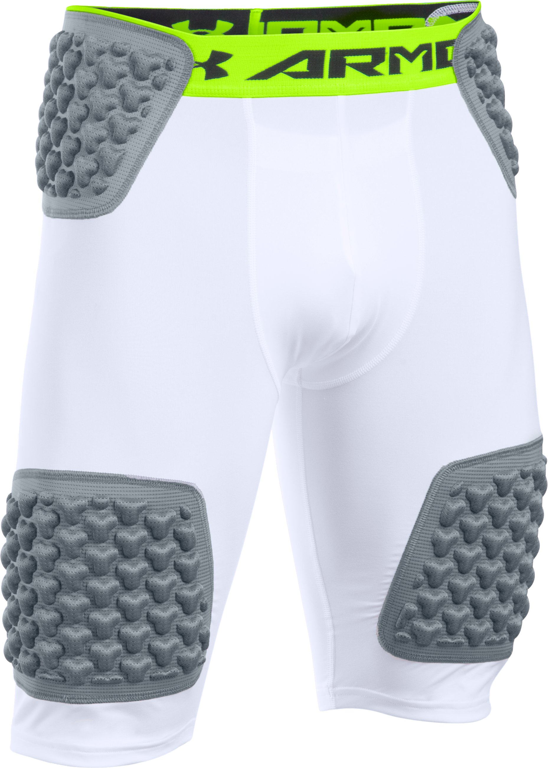 Men's Gameday Armour® Team Girdle, White,