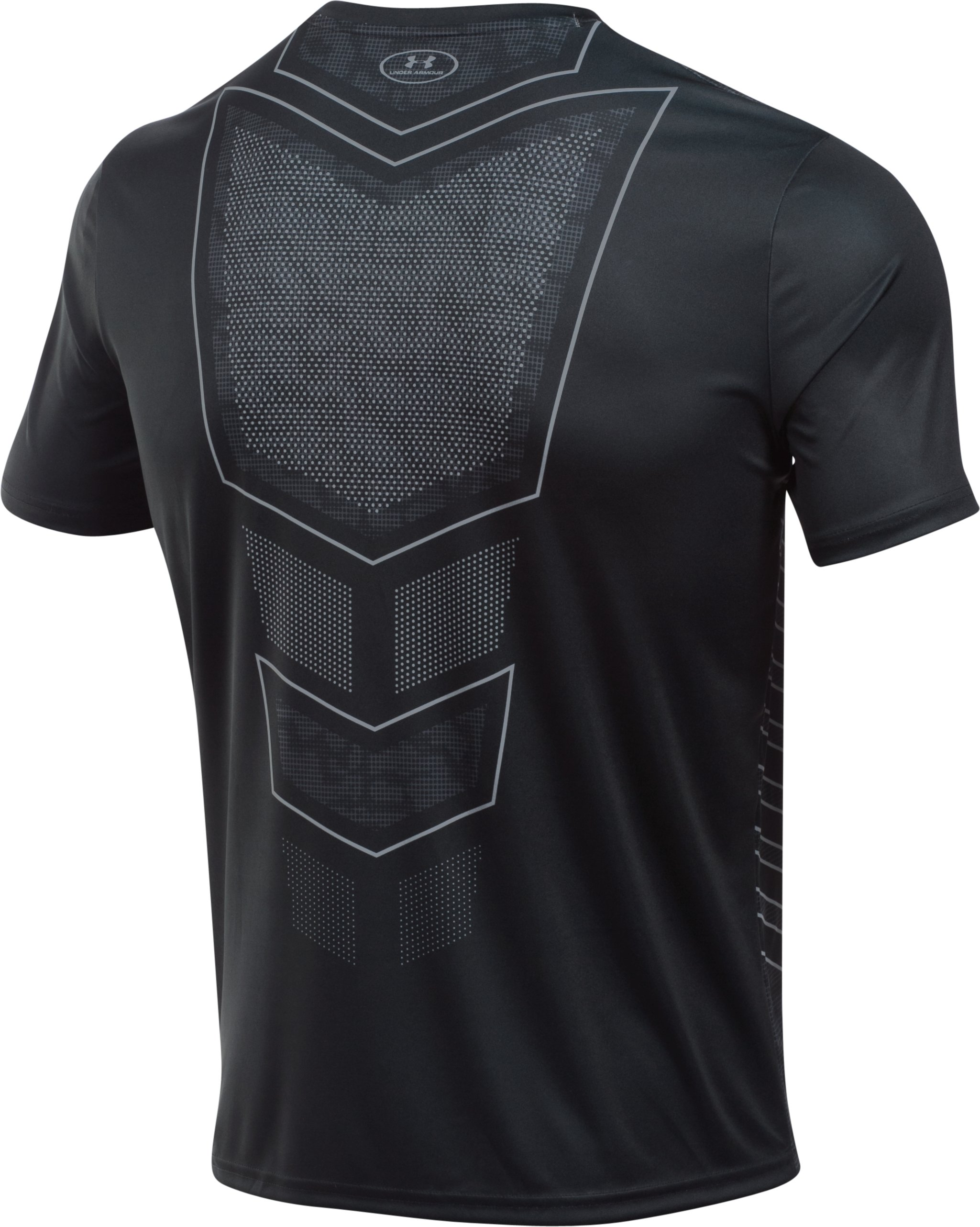 Men's UA Football Training T-Shirt, Black , undefined