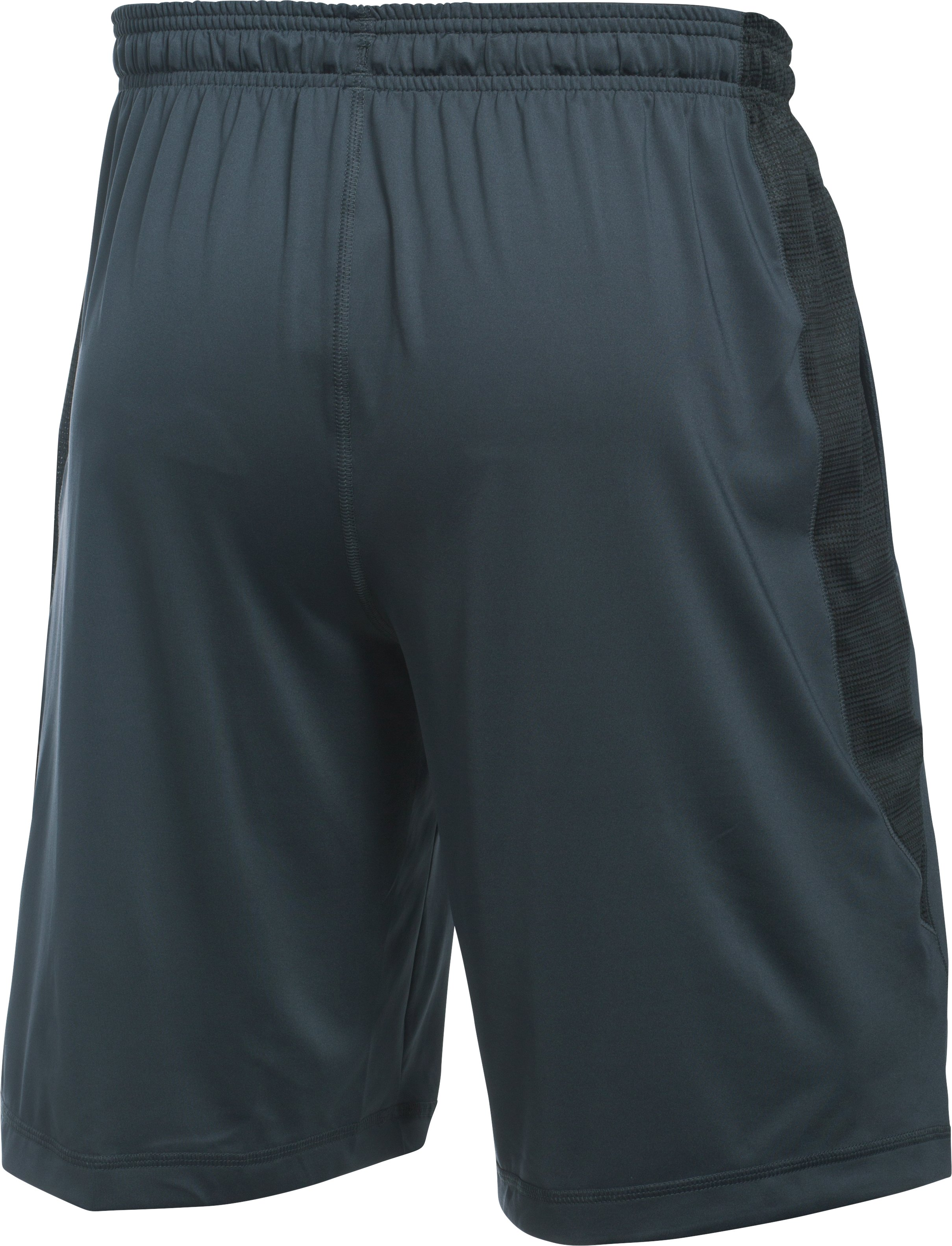 Men's UA Football Training Shorts, STEALTH GRAY