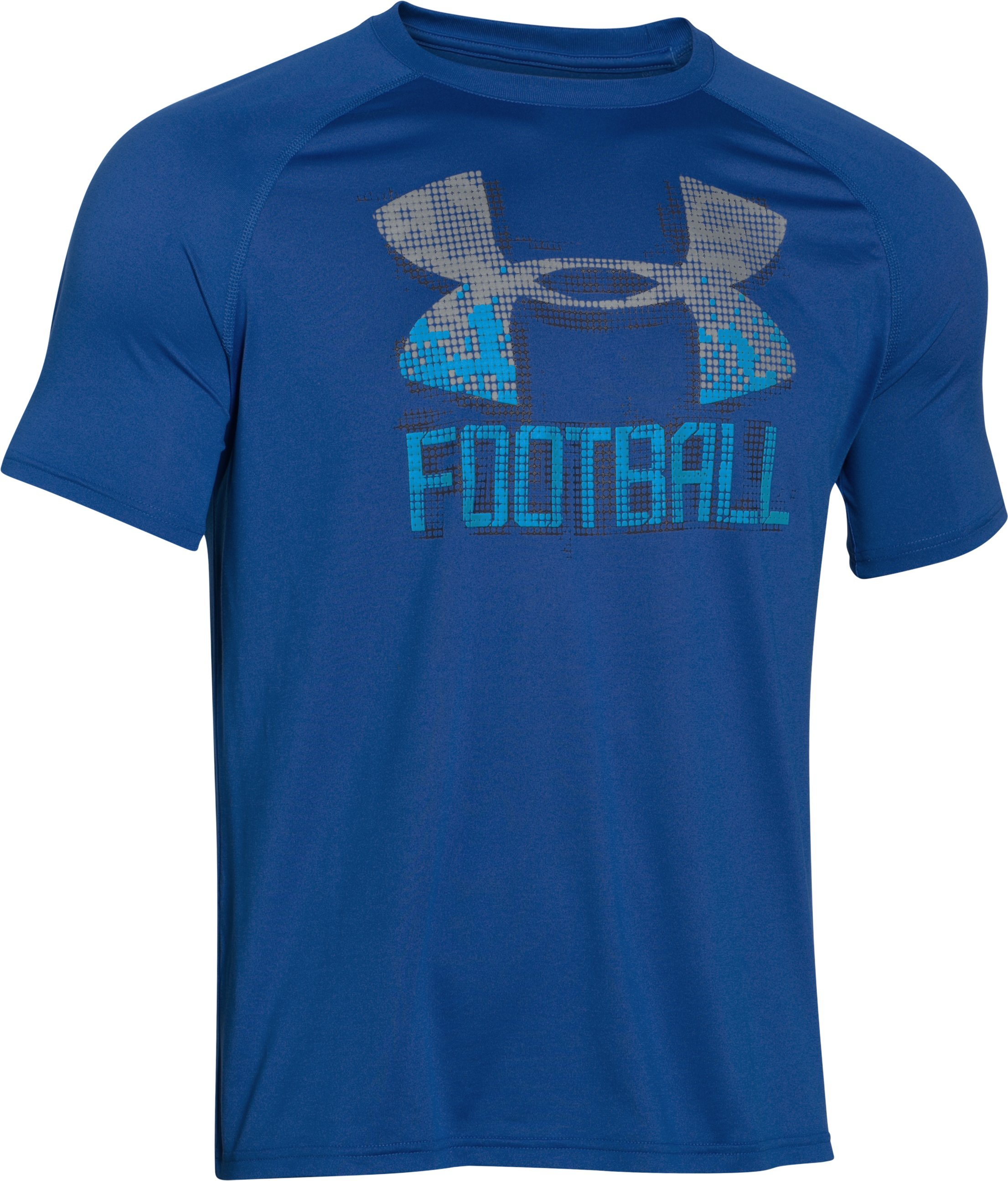 Men's UA Football Icon T-Shirt, Royal, undefined